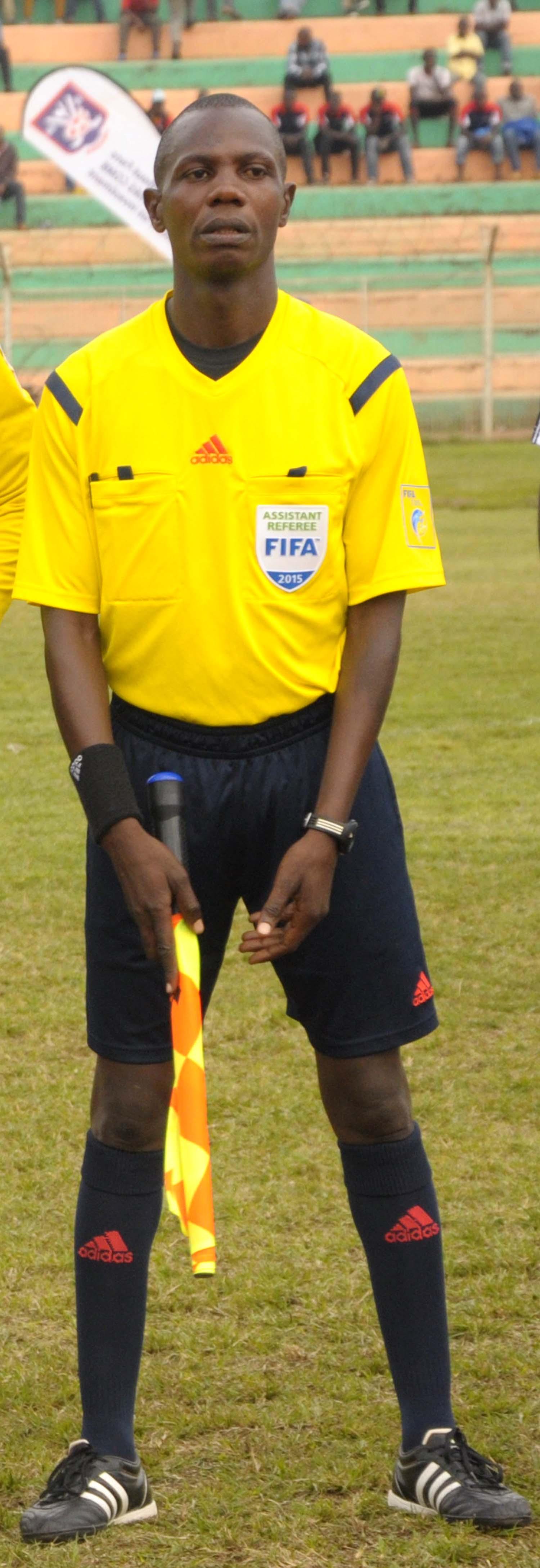 Mark Ssonko FIFA Assistant referee