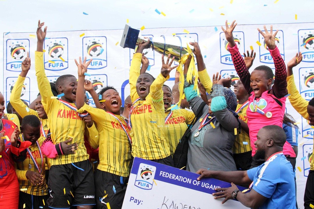 Kawempe Muslim Ladies FC Celebrate their Championship