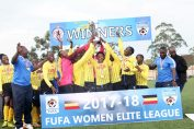 Kawempe Muslim Ladies FC Celebrate their Championship