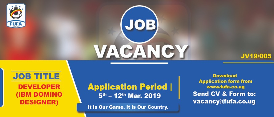 Job Opportunity: FUFA recruiting new staff - FUFA