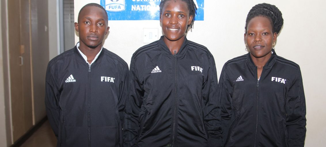 sale retailer buy popular huge selection of New Uganda FIFA Referees Receive Equipment - FUFA: Federation of ...